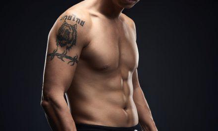 人像摄影 男性肌肉 拳击