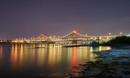 东莞夜景之 东江大桥