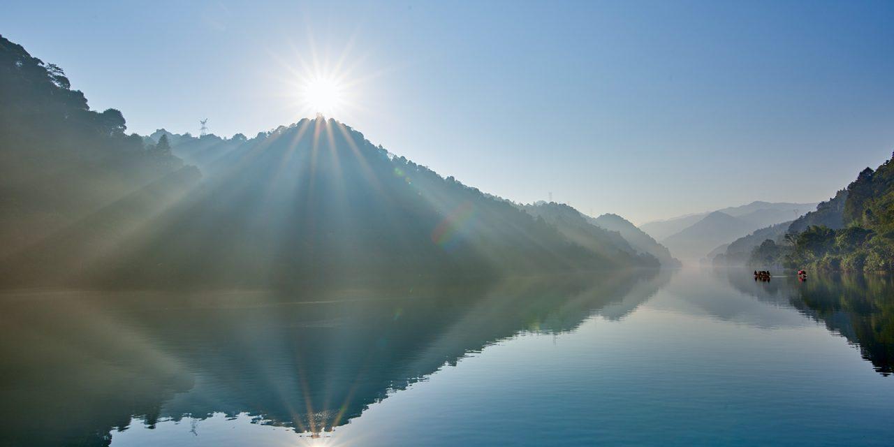 没雾的小东江