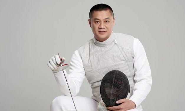 形象照 东莞形象照 击剑世界冠军