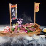 日式炭火烧肉 美食摄影